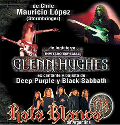 2004 - Rata Blanca Special Guest Appearance - Chile