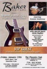 2001 - NAMM Jam VIP Pass