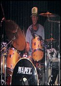 2004 - Cabo Wabo with Chad Smith - Mexico