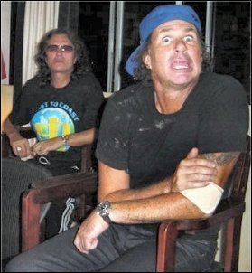 Glenn & Chad in the Studio - 2006