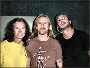 Glenn, Jerry Cantrell, Chad Smith - 2005