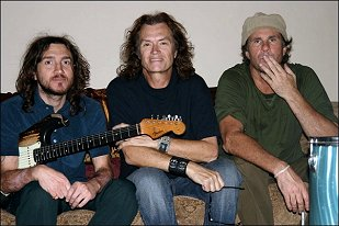 John Frusciante, GLENN and Chad Smith - Los Angeles, USA - 2005