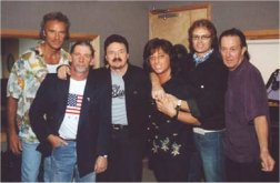 2001 - Glenn with his Voices of Classic Rock pals